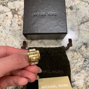 Michael Kors Buckle Ring Size 7